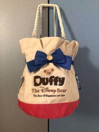 正版迪士尼Duffy 水桶包
