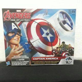 Captain America Marvel Avengers Age of Ultron Star Launch Shield Hasbro Misb