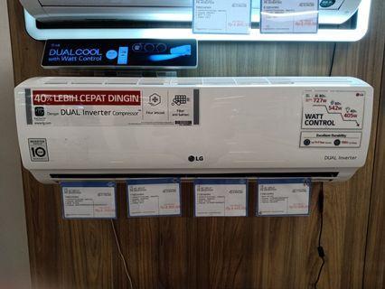 Cicil AC LG Split PK Inverter Gratis 1x Angsuran
