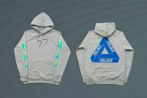 palace x john knight hoodie (rare item)