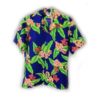 美國老品♨️藍色夏威夷衫♨️