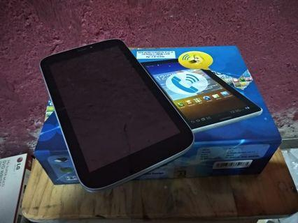 tablet android matot aldo t77 lengkap box+tabletnya