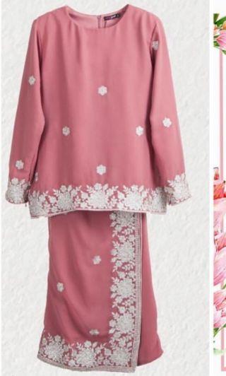Baju kurung neng geulis zahra luxe for kids