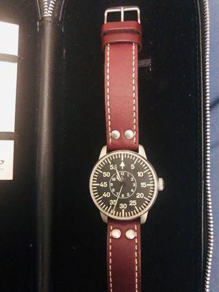 Laco Aachen Pilot Watch Type B Dial Automatic Miyota 821A