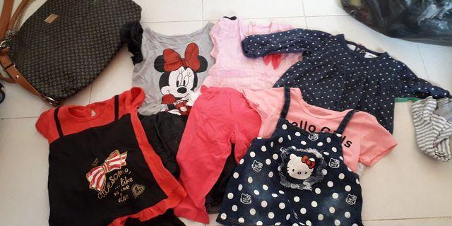 Lelong baju girl 1-3 years