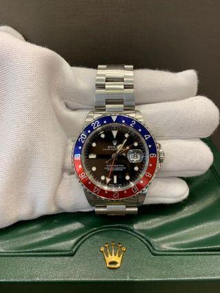 Rolex GMT Master I Pepsi