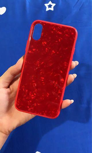 Case iPhone X & Xs red