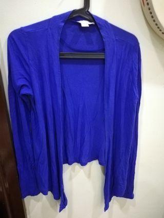 💮Cotton On Blue Cardigan