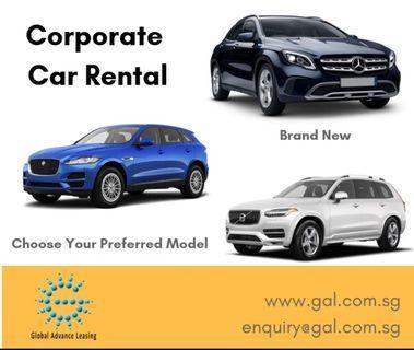 Corporate Longterm Lease Continental / Japan Car Make