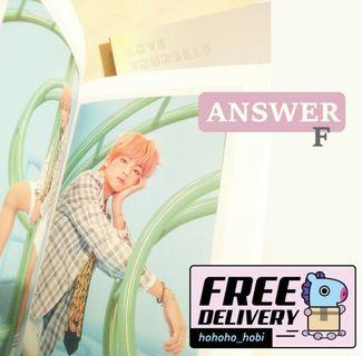 """BTS - Love Yourself """"Answer"""""""