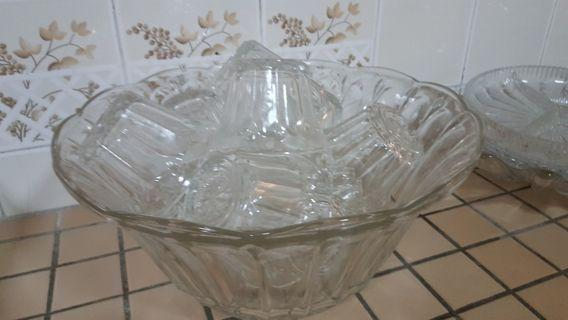 Vintage Punch Bowl #2