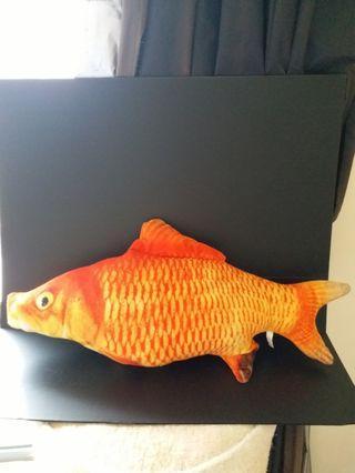大魚造型抱枕/拉鍊式