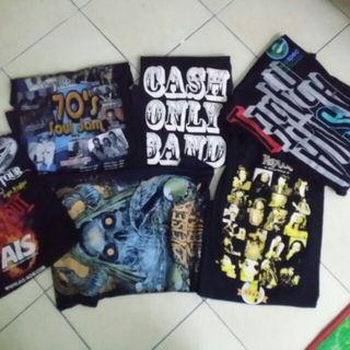 Baju Band KOMBO. WARRANT, TEGAN AND SARA, CHELSEA GRIN
