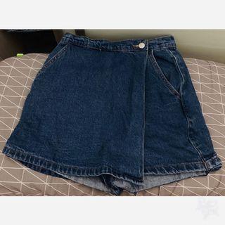Korea style!Denim skirt(inner pants)