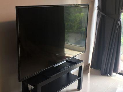 """Philips 55"""" LED TV and Stand"""