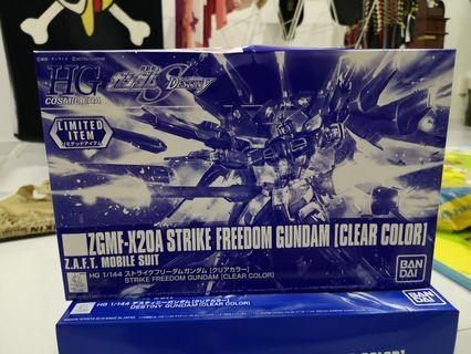 HGCE 1/144 Strike Freedom Gundam - Clear Color