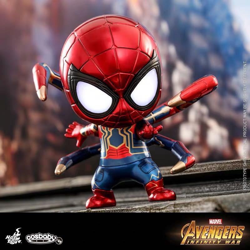 (原價出售) Cosbaby iron spider man