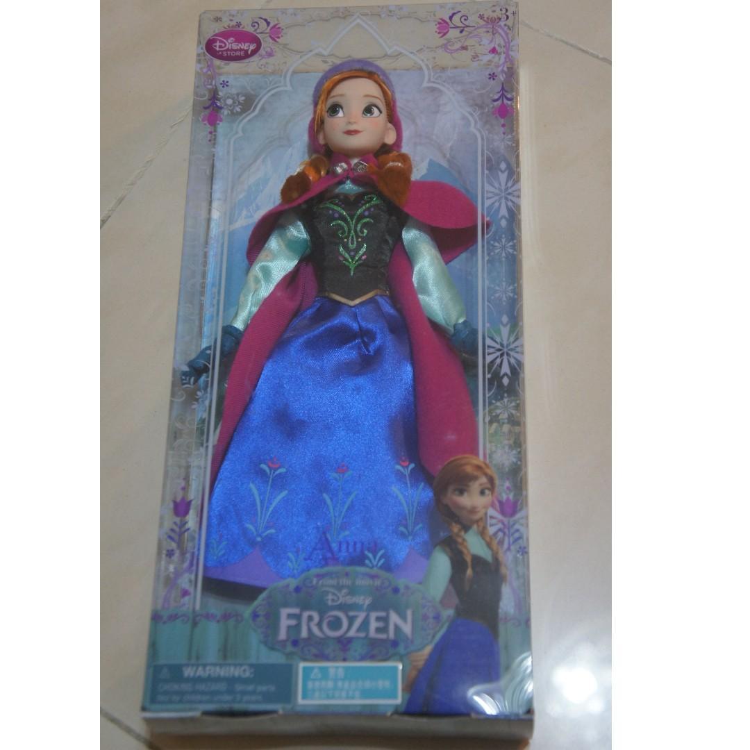 魔雪奇緣 Frozen Sparkle Princess Frozen Anna 安娜  Doll Figures
