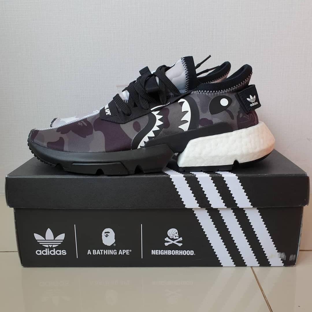 Adidas pod x bape nhd