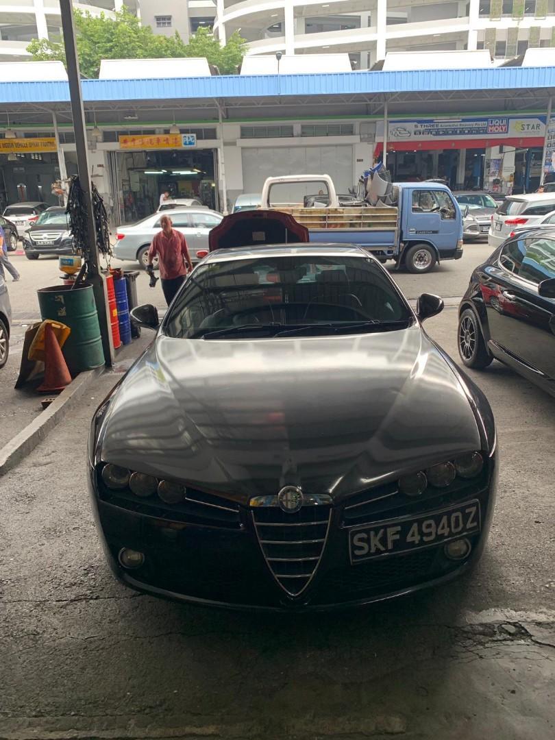 Alfa Romeo 159 2.2 JTS Selespeed Quadrifoglio Verde Auto
