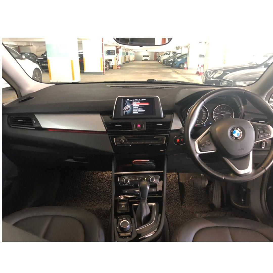 BMW 218i 2016 (2017 出車)