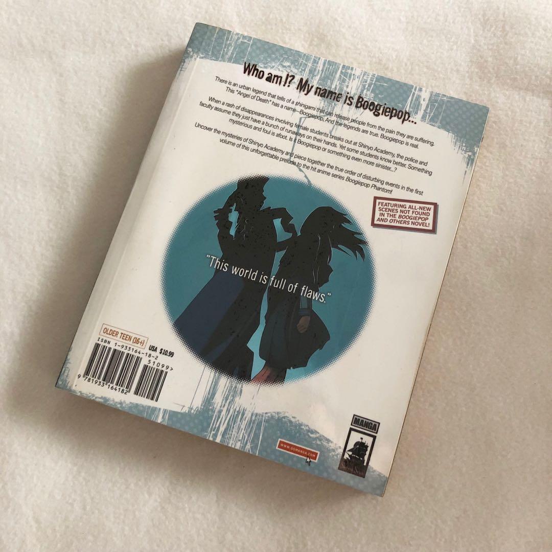 Boogiepop Doesn't Laugh - Kouhei Kadono x Kouji Ogata (Official Seven Seas Go Manga English Edition) Super Rare