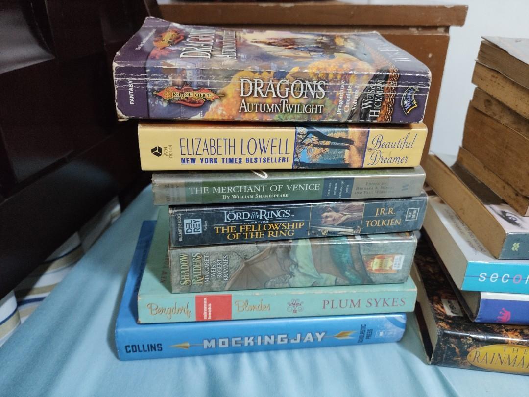 Books Set (Fiction, Non-fiction, Adult, Young Adult, Youth, Scifi, Romance, Horror, Self-help, Religious, Adventure, Etc.)