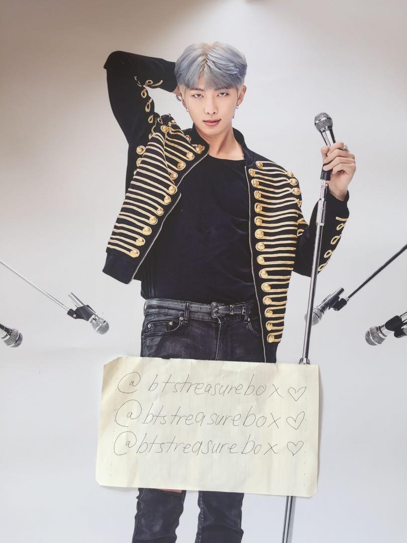 BTS SPEAK YOURSELF RM NAMJOON POSTER OFFICIAL MERCHANDISE