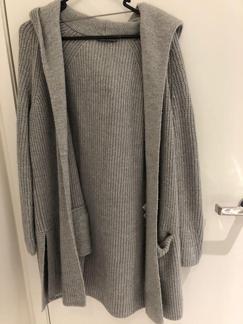 (warm n cosy) Calvin Klein Jeans long loose cardigan