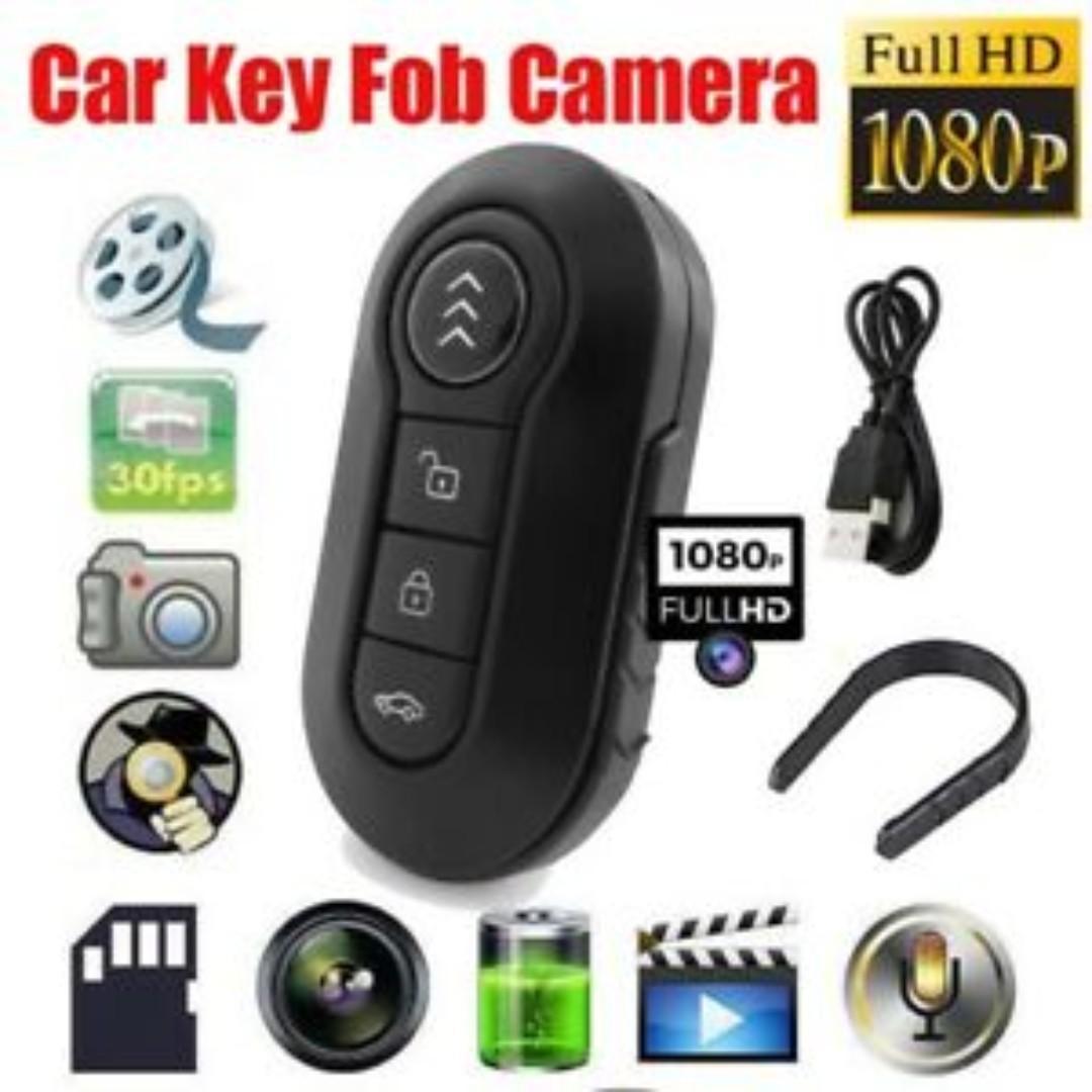 Car Key Chain Mini DV IR Led Night Hidden DVR Spy Camera