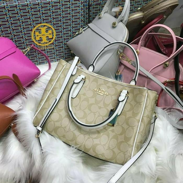 Coach saffiano wp Bag tas import branded premium waterproof #joinagustus