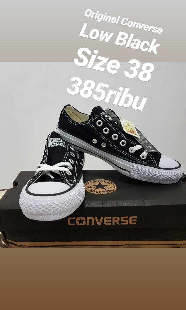Converse Original Low Black
