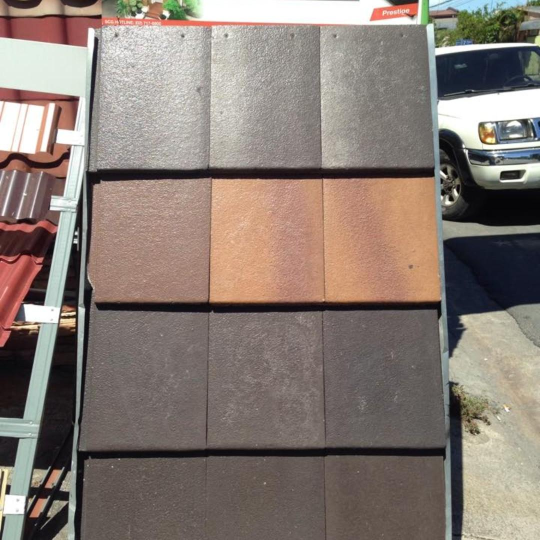 Cpac Flat Concrete Rootiles Scg Prestige Construction Industrial Construction Building Materials On Carousell