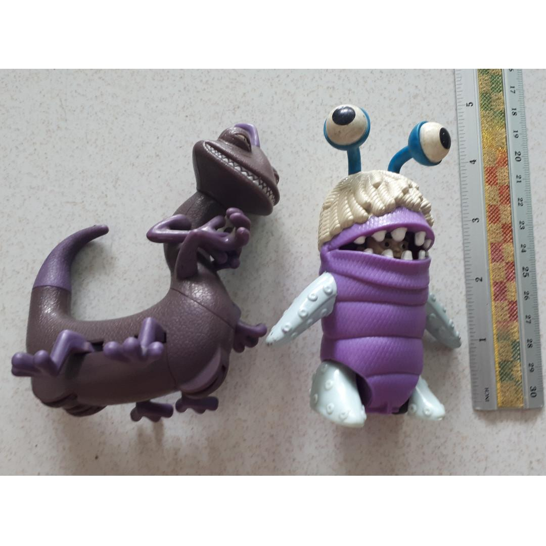 Disney Monsters Inc Randall And Boo Mcdonalds Toys Games Toys On Carousell