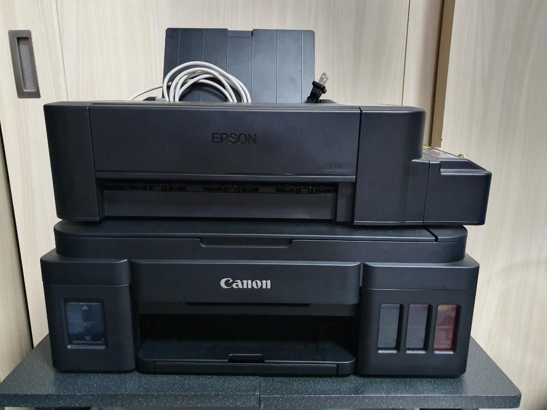Epson L120 and Canon G2000 Printer on Carousell