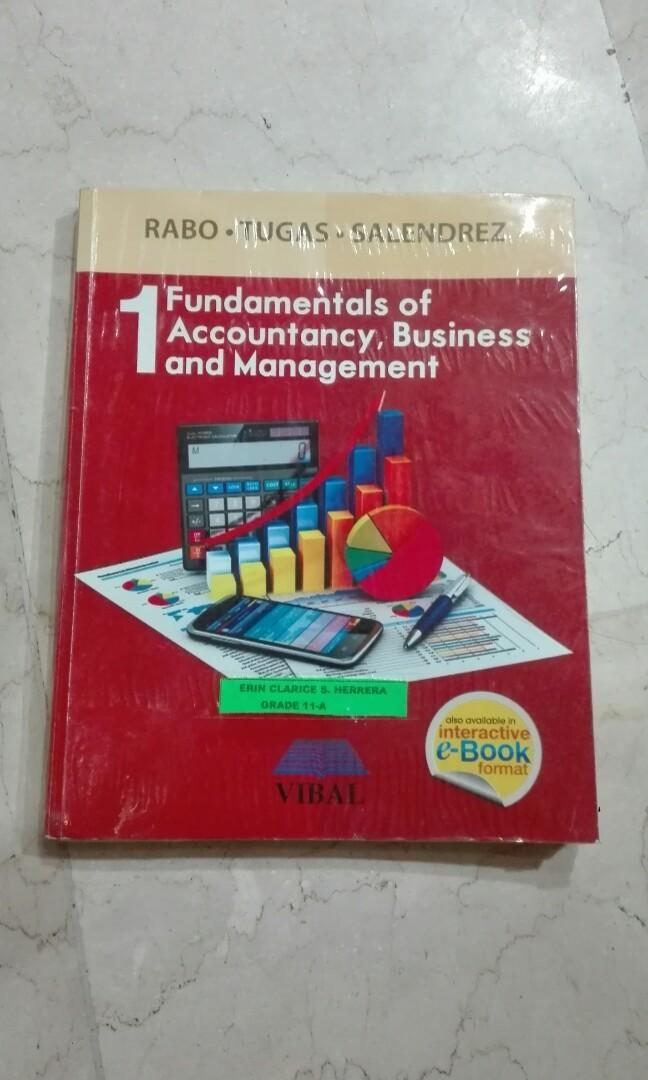 Fundamentals of Accountancy, Business and Management 1 by Rabo, Tugas and Salendrez