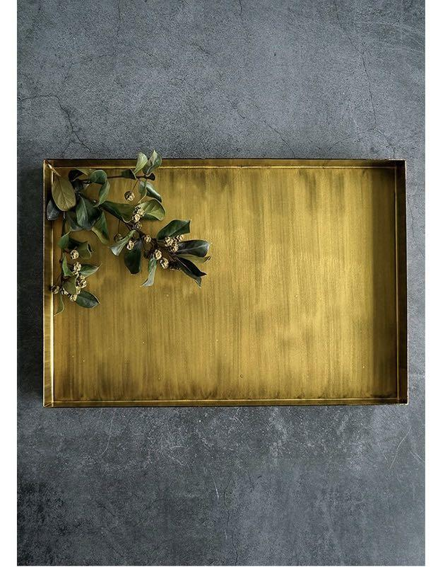 Gold Rustic Plate