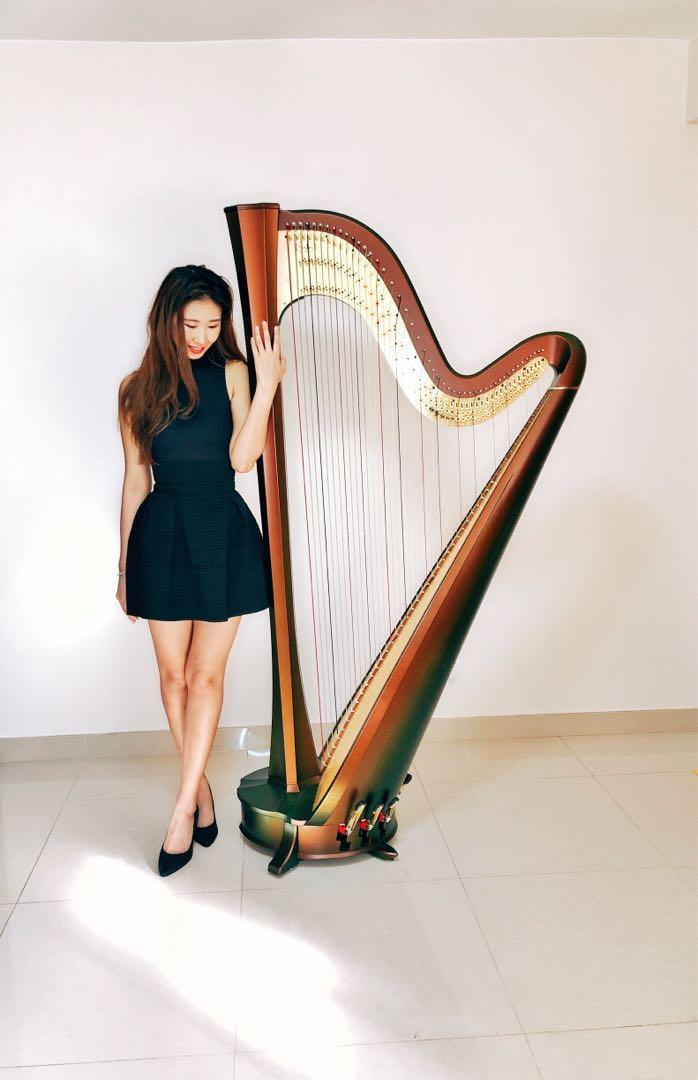 Harp 豎琴 演奏級 LTCL 老師