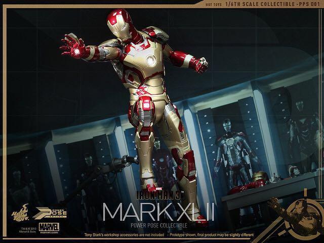 Hottoys iron man Mark XLII