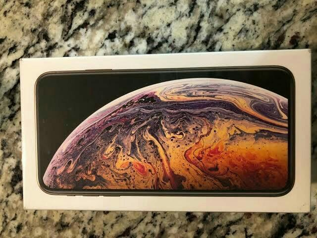 DRASTICALLY REDUCED iPhone Ten xs max 512gb gold unlocked Express Ship BRAND NEW for quick sale