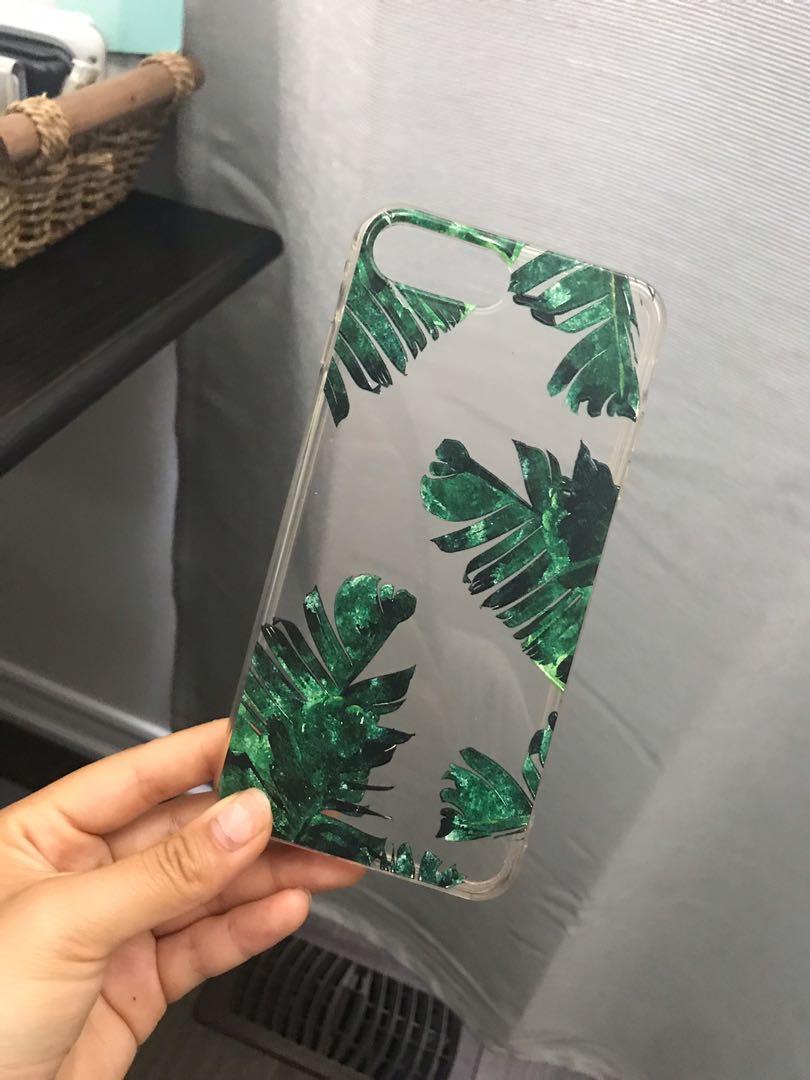 Leaves Transparent iPhone 7Plus/iPhone 8Plus Case