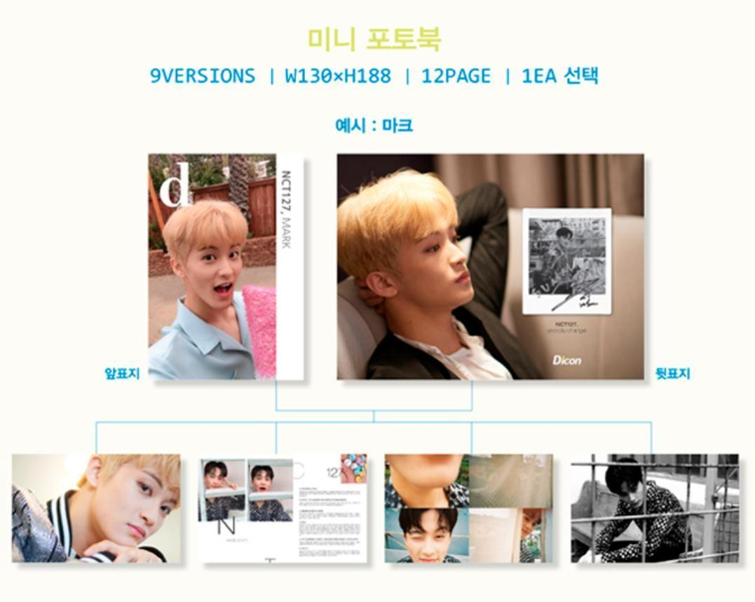 [LOOSE] NCT 127 and City of Angel Vol.5 Dicon Magazine: Mini Photobook and Poster
