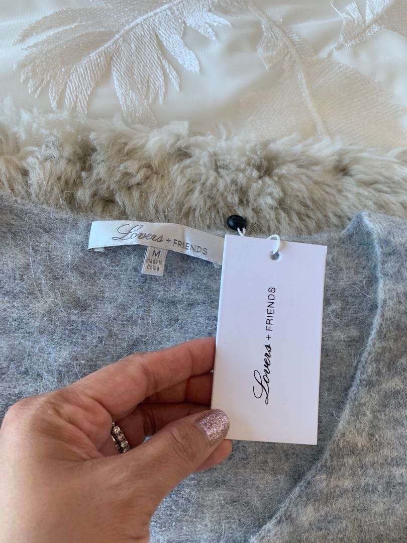 Lovers + Friends Highland Sweater Size M Brand New