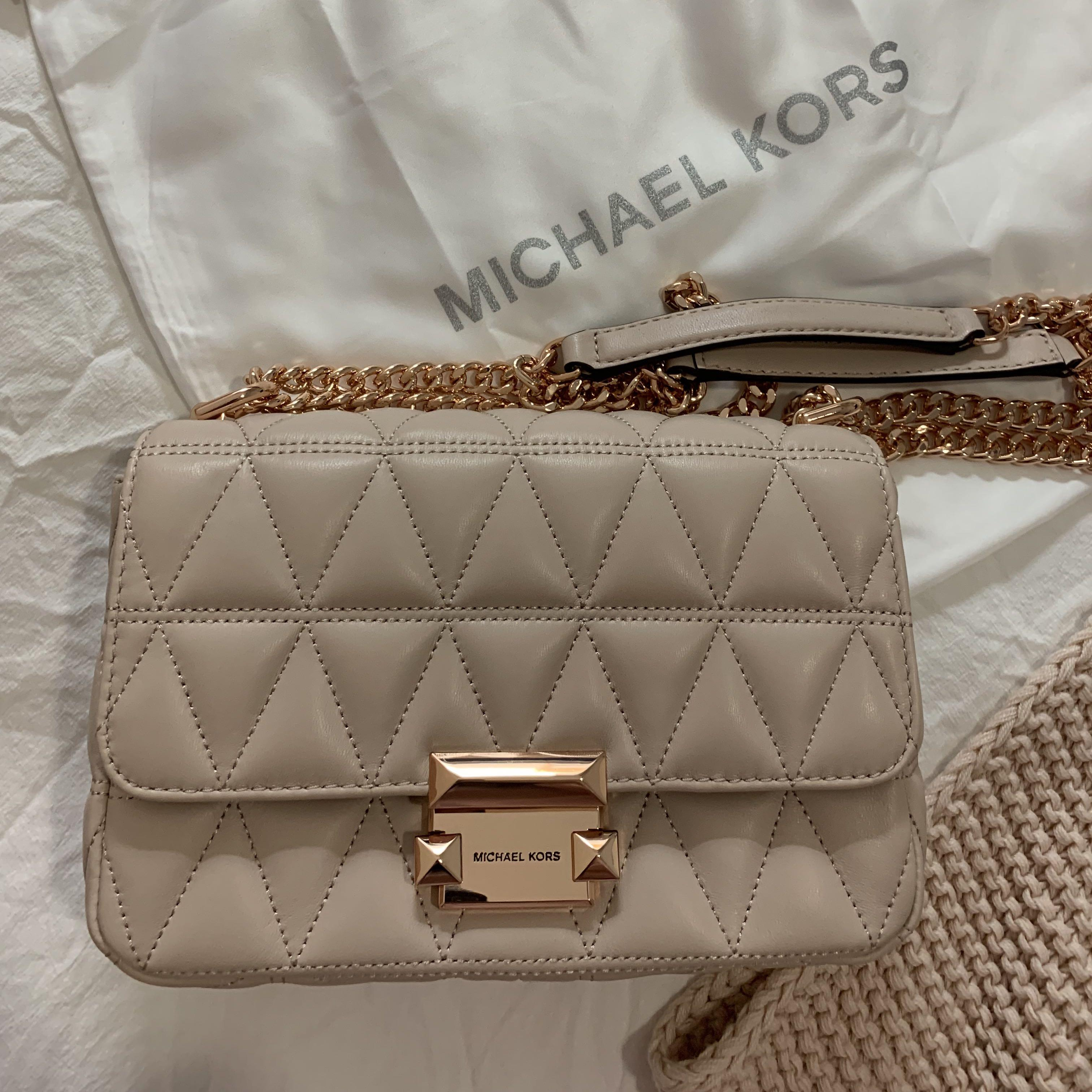 Michael Kors Sloan Small Quilted Leather Crossbody