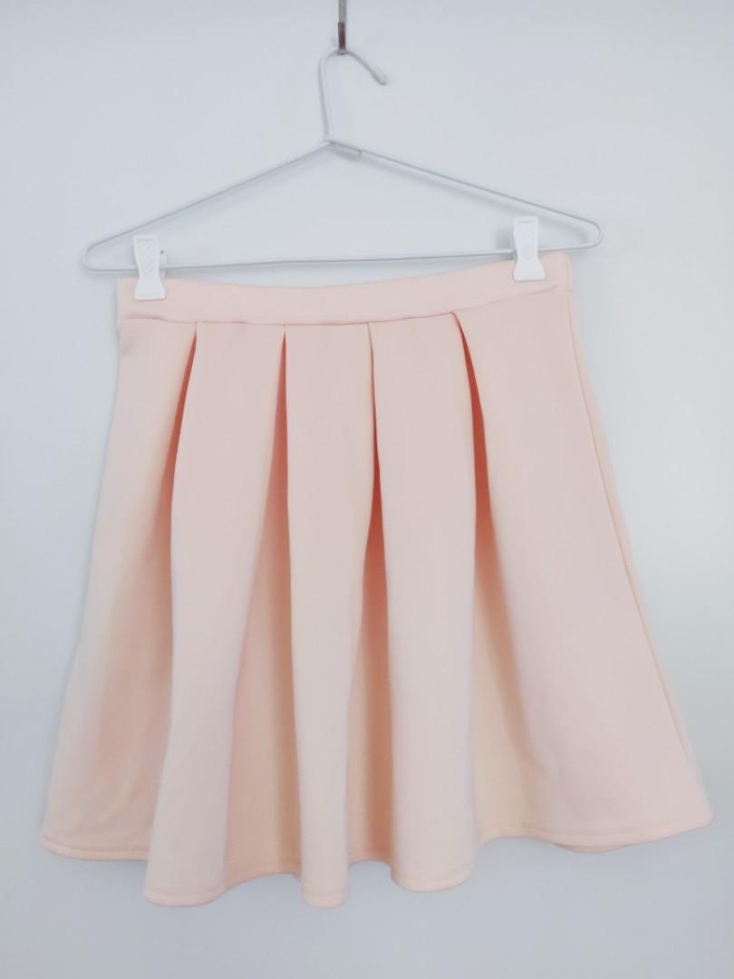 Missguided Cornelia Scuba Skater Skirt AU UK Size 10