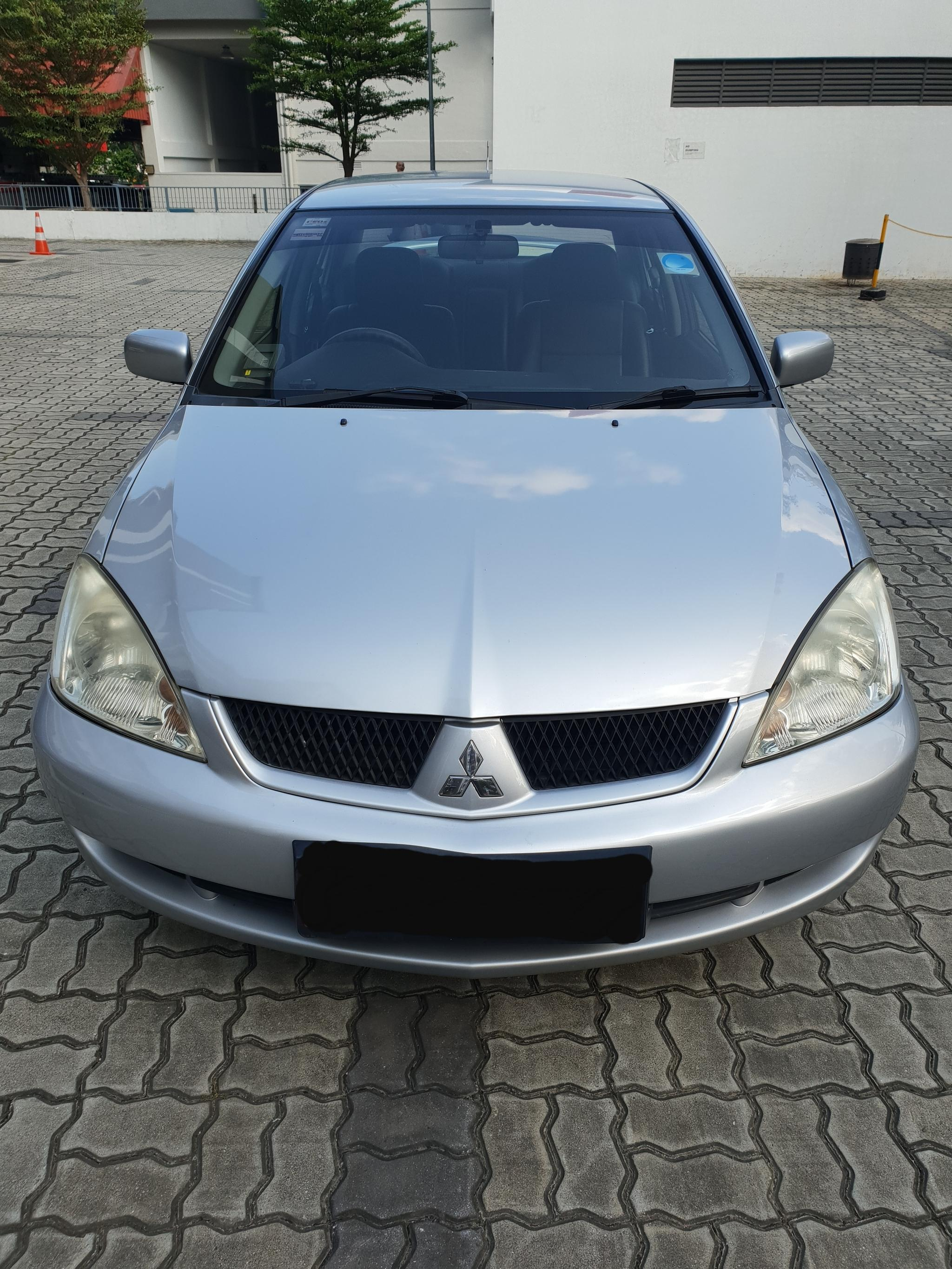 Mitsubishi Lancer RENTAL CHEAPEST RENT AVAILABLE FOR Grab/Ryde/Personal USEY