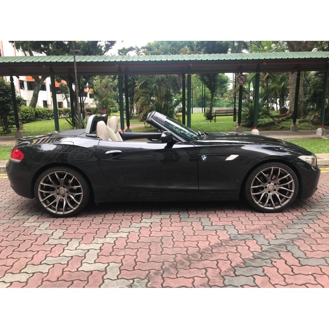 Car Rental Promotion Luxury Convertible