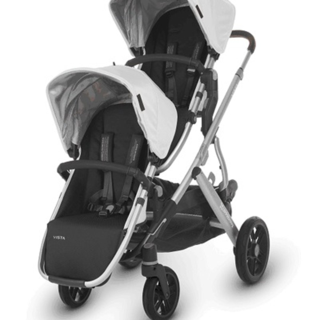 New Uppababy Vista Double Stroller With Mesa Car Seat 2019