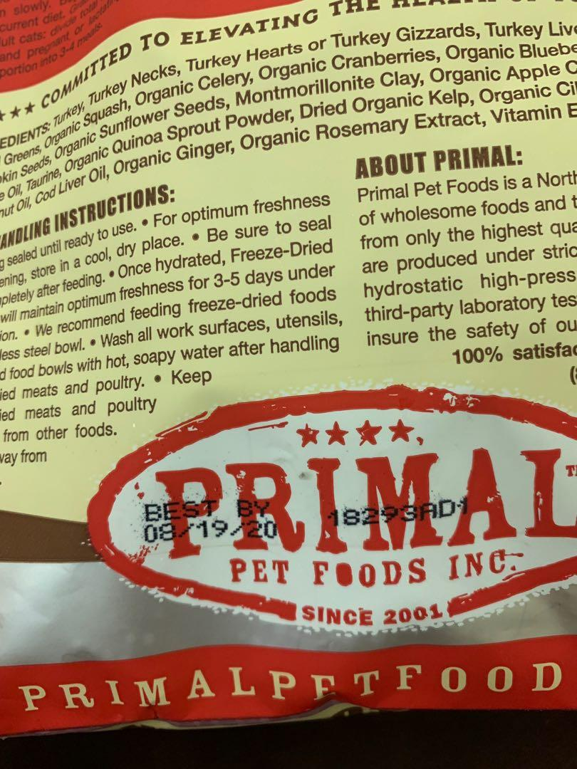 Primal Turkey 14oz