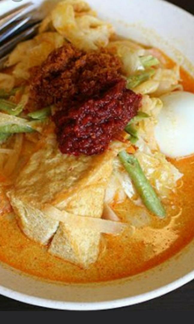 Raya haji food